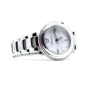 Reloj Citizen Eco Drive Para Dama Siluet Estética 10 $2450