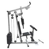Estação De Musculação Com 80kg Aparelho Ginástica Academia