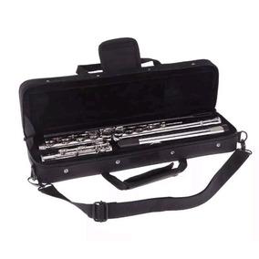 Flauta Transversal Slade Prata Prateada A Pronta Entrega Ccb