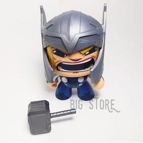 Boneco Funko Anime Os Vingadores Thor Cabeca Giratoria 10cm