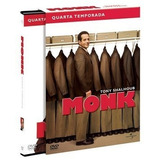 Box Original : Monk - 4ª Temporada - Lacrado - 4 Dvds