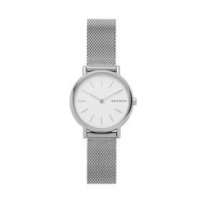 Reloj Dama Skagen Signatur Skw2692 Color Plata De Acero