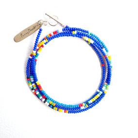 Sammy Wrap Bracelet / Blue