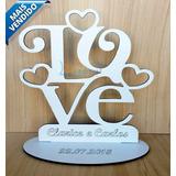50x Lembrancinha Casamento 63 Modelos - Mdf Branco 12cm