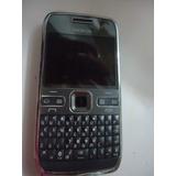 Celular Nokia E72-2 Usada So Vibra Retirada De Peças N611