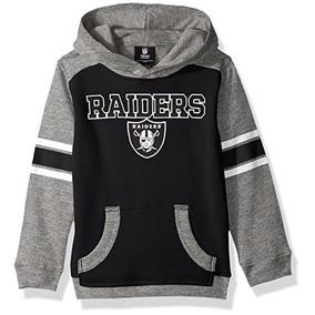 e095a2a7af871 Nfl Oakland Raiders Niños Jóvenes Lealtad Pullover Sudadera