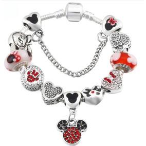 7f63770308c Pulseira Pandora Infantil Mickey Disney - Joias e Relógios no ...