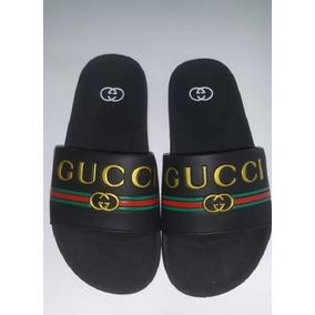f4feb404290f23 Chinelo Gucci Masculina Tamanho 41 - Chinelos 41 no Mercado Livre Brasil