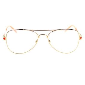 Armação De Oculos Tumblr De Grau - Óculos Laranja no Mercado Livre ... 38194d000d