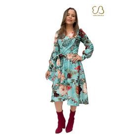 c3917eb5e Vestido Envelope - Vestidos Femininos Casuais no Mercado Livre Brasil