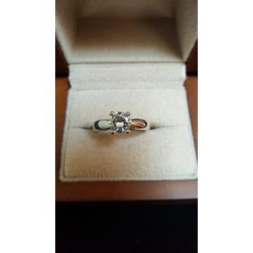 Diamante Corte Brillante 1ct. En Oro Blanco