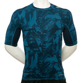 Remera Techfit Base Graphic Print adidas Sport 78