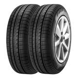 Combo X2 Neumaticos Pirelli 185/70r14 P400ev 88h Eg2