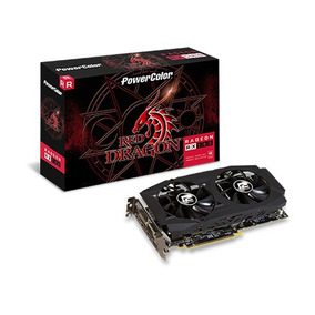 Placa De Vídeo Amd Radeon Rx 580 Red Dragon 8gb Powercolor