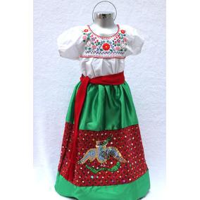 Disfraz China Poblana Traje México Fiestas Patrias Niña