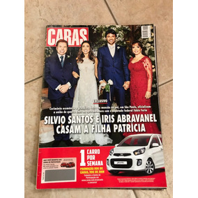 Revista Caras Silvio Santos Patrícia Abravanel Caio Castro