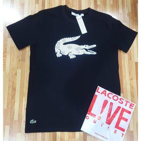 Camisas Lacoste Big Croc Por - Calçados, Roupas e Bolsas no Mercado ... 01dd2e6b4c