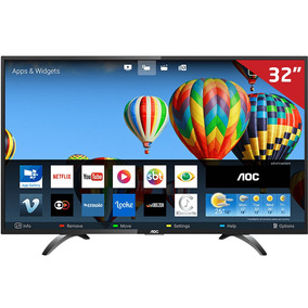 Smart Tv Led 32 Le32s5970s Aoc, Hd Hdmi Usb Com Wi-fi Integ