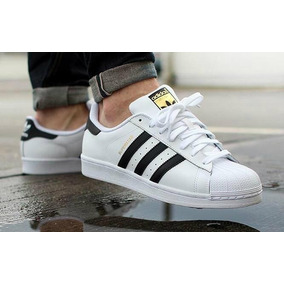Tênis adidas Originals Superstar Branco E Preto - Original 5b59233726ec6