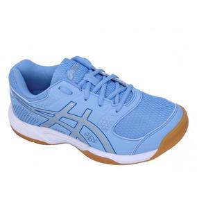 Tenis Asics Gel Rocket 8a Azul Futsal Volei Padel Original L · R  279 806b56ad5b3e5