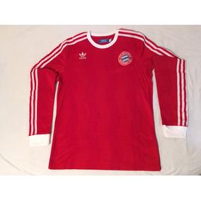 adbce75660 Casaco Bayern De Munique Retrô adidas Tamanho G