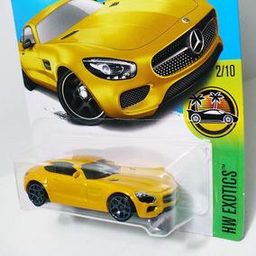 Hot Wheels Mercedes Amg Gt 15 Hw Exotics Meka Benz - Amarelo