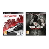 Combo Fight Night Champion + Need For Speed Mw Ps3 / Hoy!