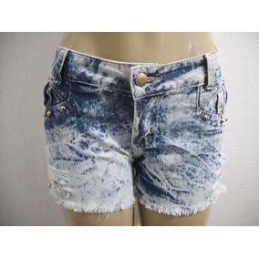 Shorts Jeans Tipo Customizado Tam 40 Conforme Anúncio