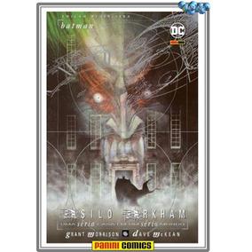 Batman - Asilo Arkham Panini - Novo E Lacrado