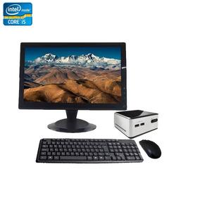Mini Pc Nuc Core I5 8gb + Ssd 180gb + Monitor 18,5