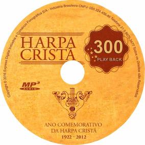 Cd 300 Play Back Harpa Crista Hinos Da Harpa