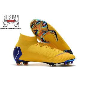 Chuteira Nike Mercurial Trava Em Gel E Sola De Fibra Carbono ... a589414218012