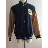 Chamarra San Diego Padres Vintage G-iii Mlb Producto Oficial