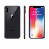 iPhone X 64gb Space Gray, Com Todos Os Acessórios.