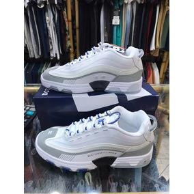 Tênis Dc Shoes Legacy Og - White Blue