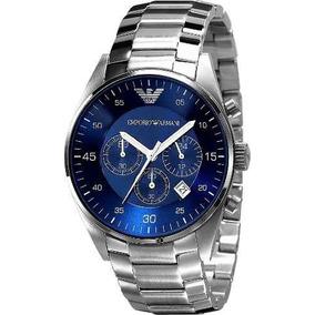 11d5c1146d4 Anéis Masculinos Emporio Armani Em Aço Inoxidável - Joias e Relógios ...