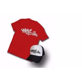 Kit Camiseta Cabo Enrolado Motoqueiro + Boné Promoção e8f1f8b9d34c6