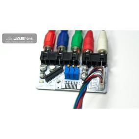 Conversor Rgb Componente Neo-geo Arcade Jamma Fliperama