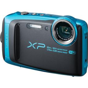 Cámara Fujifilm Finepix Xp120 Azul Cielo