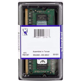 Memória 8gb Ddr3l 1600 Mhz 1.35v Low Voltage Kingston Note