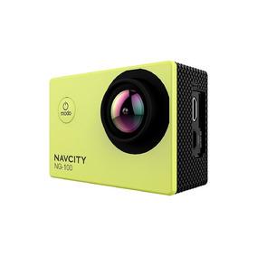 Camera De Ação Esportiva Navcity Ng-100 12mp + Case + Selfie