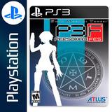 Persona 3 Fes Ps3 - Consolas y Videojuegos en Mercado Libre Argentina