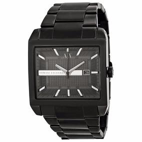 aae8a655de5 Relogio Ax Masculino Quadrado - Relógios De Pulso no Mercado Livre ...