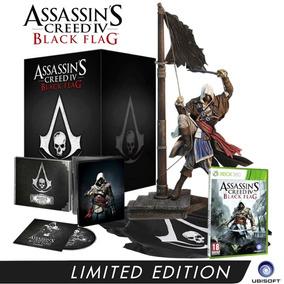 Assassins Creed Iv Black Flag Limited Xbox 360 Mídia Física