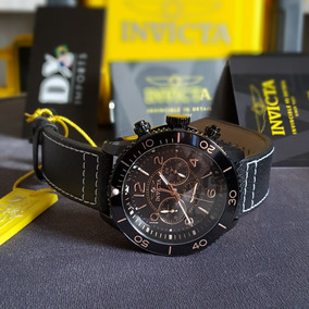 Relógio Masc. Invicta Aviator Black Original