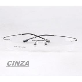 Armacao Grau Rosa Claro - Óculos Cinza escuro no Mercado Livre Brasil 3773d2ec96