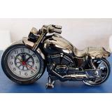 Reloj Despertador Motocicleta