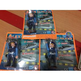 Playmobil Policial Ed. Limitada Sniper Com 2 Armas Algemas
