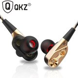 Audífonos Qkz Ck8 Dual Driver Hybrid Super Bass Micrófono