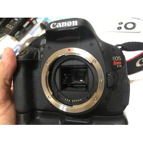 Câmera Canon Eos Rebel T3i + Baterry Pack